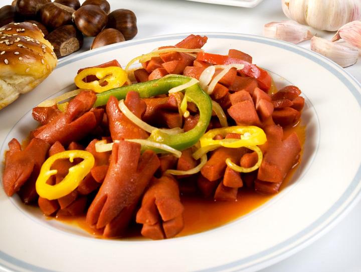 Sosis is de Turkse variant van de knakworst.